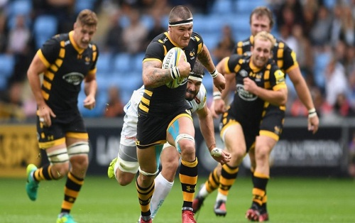 Rugby - Champ d'Angleterre Premiership - London Wasps / Exeter Chiefs