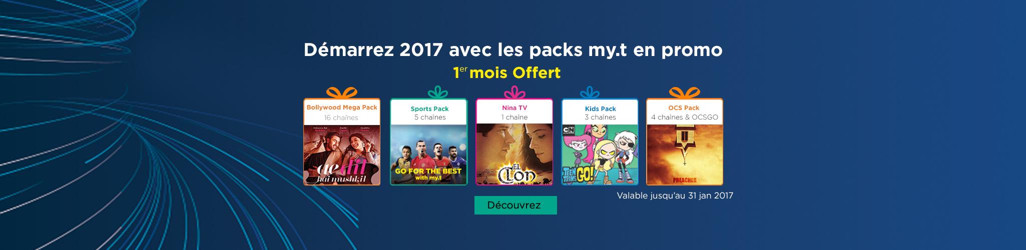 VoD packs